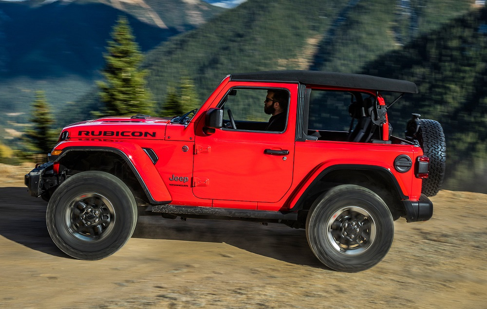 Jeep Wrangler Soft Top >> Mopar Soft Top Premium Twill Fabric For 2 Door Wrangler Jl 82215147