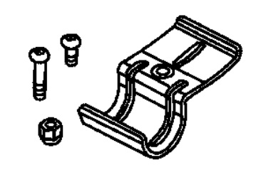Mounting Hardware & Clamp for 82205174 Rack Kit