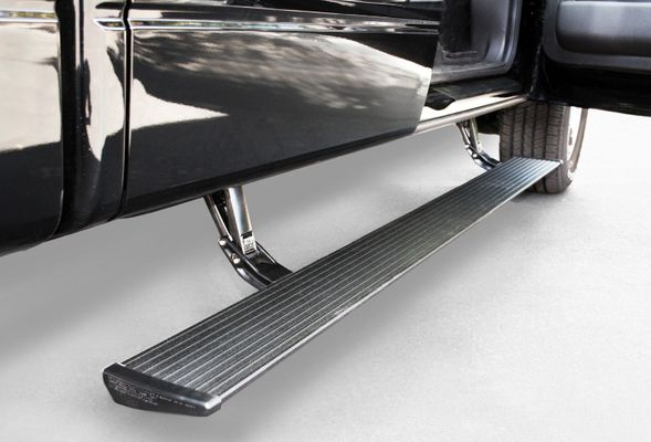 Amp Research Powerstep Running Boards Plug N Play System for 2018-2019 Grand Cherokee WK2