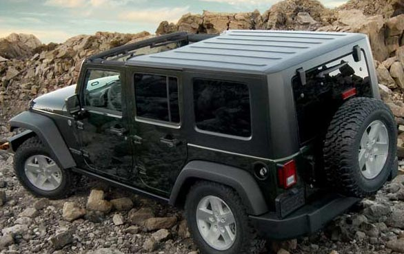 JK Wrangler Factory Hard Top