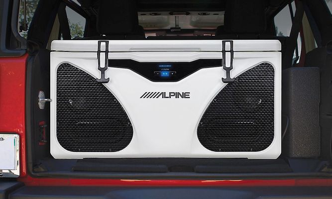 Alpine PWD-CB1 Alpine ICE (In-Cooler Entertainment)