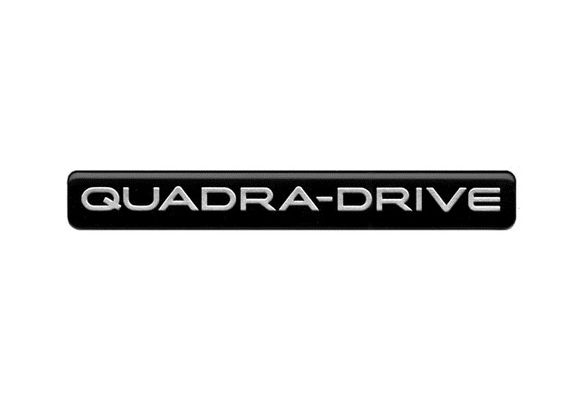 Quadra-Drive Badge Decal