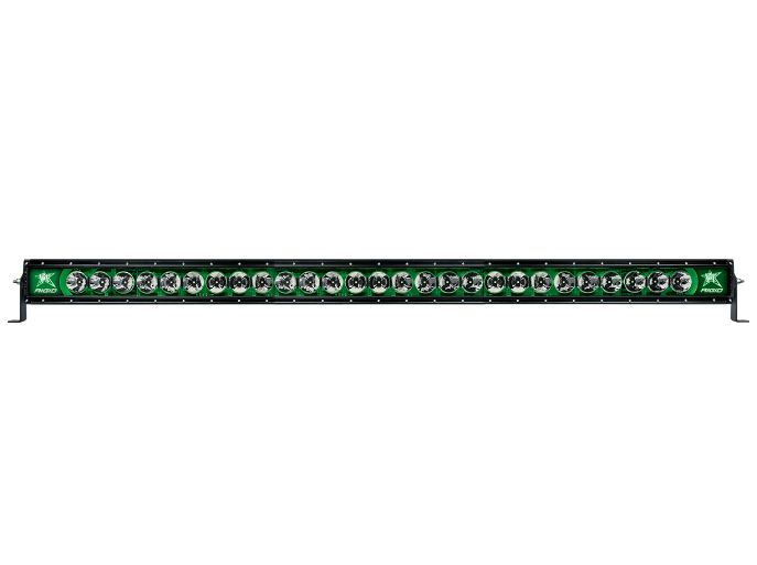 Rigid Industries Radiance Plus Light bar with Green Back Light