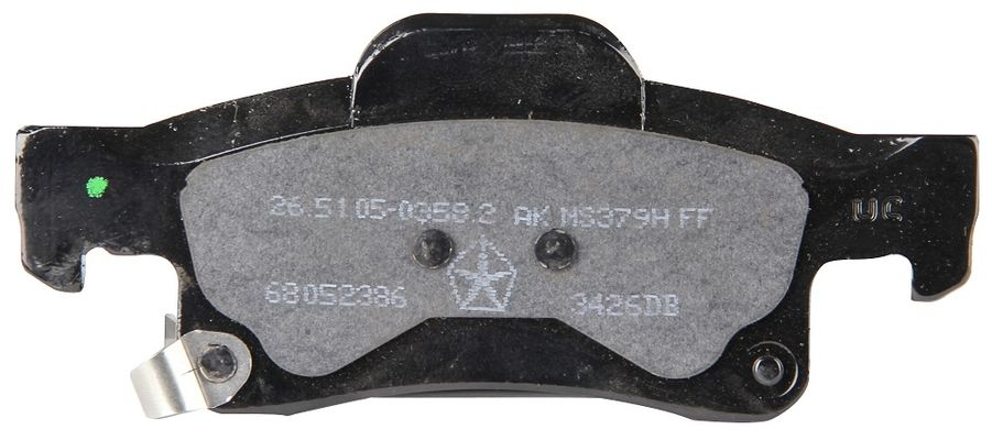 Mopar Rear Brake Pads (BR6, BRY or BR1) for 2011-2020 Grand Cherokee WK2