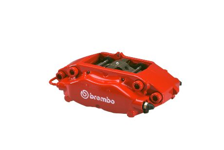 Red SRT8 Rear Brembo Calipers