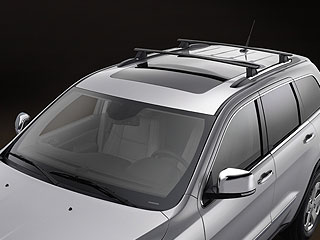 Jeep Roof Rack W Cross Rails Removable Mopar 822212072ad 82212072ad
