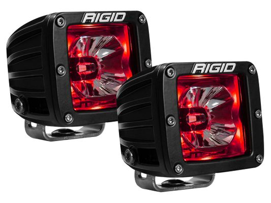 Rigid Industries Radiance Pod|Red