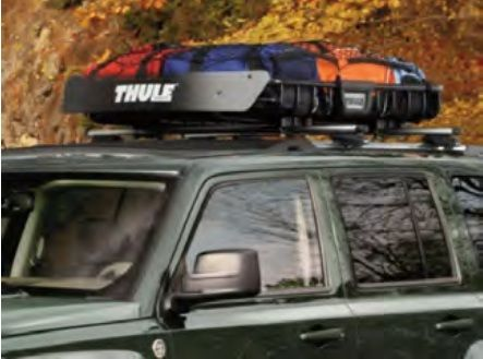Roof Rack Mounted Cradle Basket