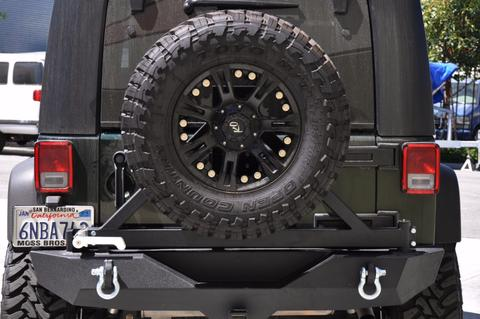Dv8 Rs 1br Rear Bumper With Tire Carrier Rbsttb 01b