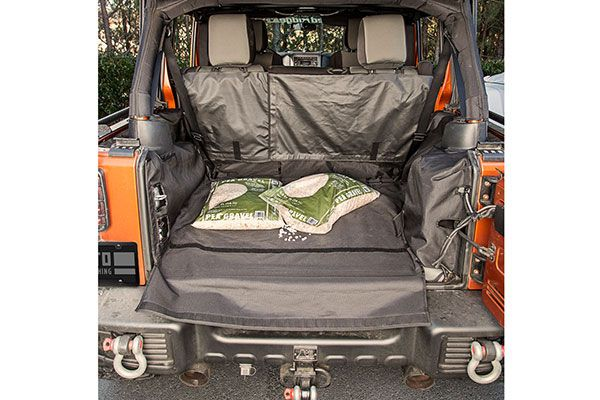 JK Wrangler Rugged Ridge C3 Cargo Cover