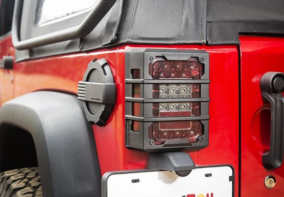 Rugged Ridge JK Elite Taillight Guards
