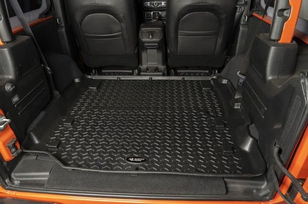 Rugged Ridge Full Length Rear Cargo Liner for 2018-2020 2 Door Wrangler JL