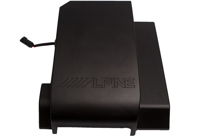 "Alpine SBV-10-WRA Pre-Loaded Weather Resistant 10"" Subwoofer for 2007-2018 Wrangler JK Four Door"