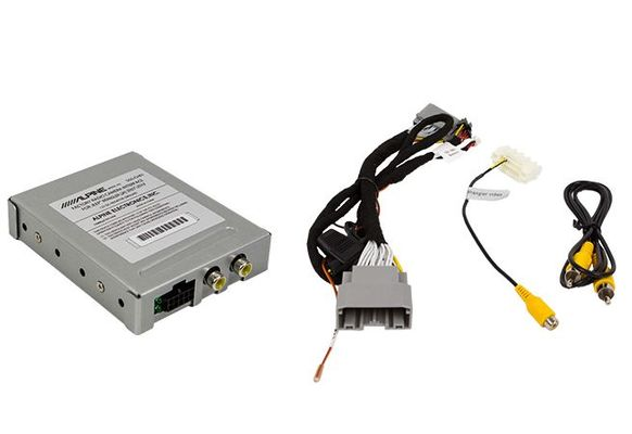 Alpine SGS-CH01 Factory Radio Camera Interface with Active Guide Line System for Wrangler JK