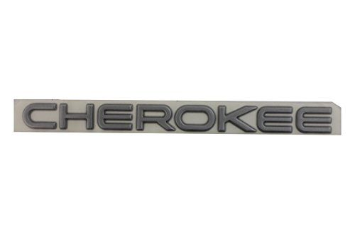 Silver Cherokee Decal