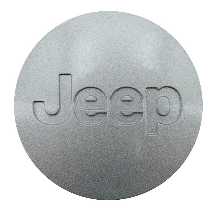 Silver Jeep Wheel Center Cap
