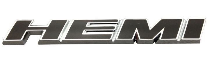 "Mopar Slanted ""HEMI"" Badge for 2005-2020 Grand Cherokee WK/WK2 and 2006-2010 Commander XK"