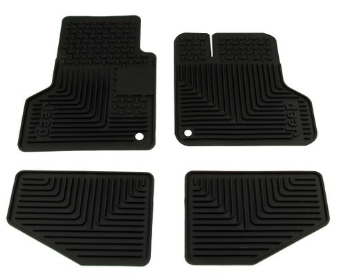 TJ Wrangler Slush Floor Mats - Set of 4