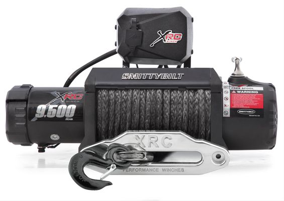 Smittybilt XRC-9.5 Gen2 Winch with Synthetic Line