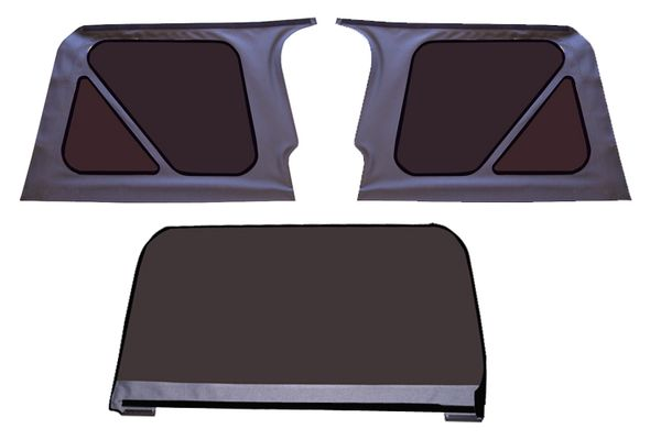 1997-2006 TJ Wrangler Soft Top Replacement Windows
