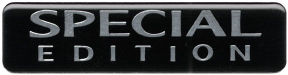 Special Edition 2004 Badge Decal