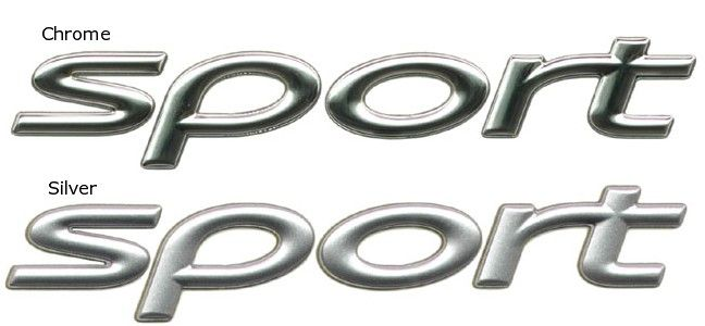 Sport Badge Decal