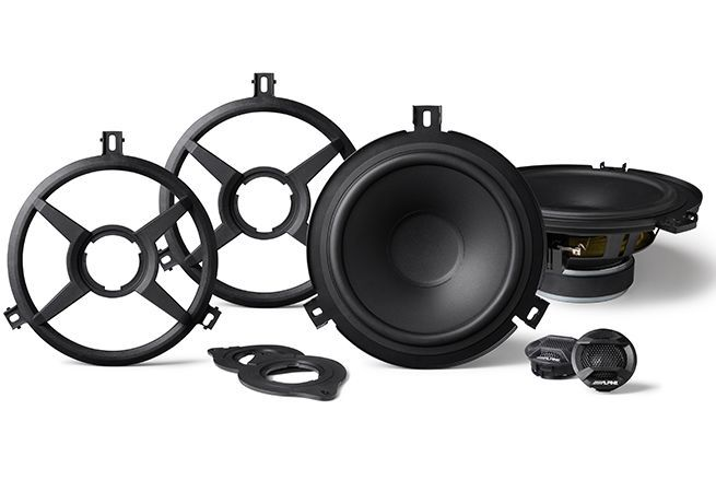 "Alpine SPV-65X-WRA 6-1/2"" Weather Resistant Component/Coaxial Speaker System for Wrangler JK"