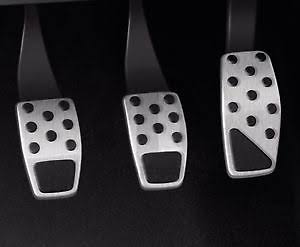Renegade Stainless Steel Pedal Covers