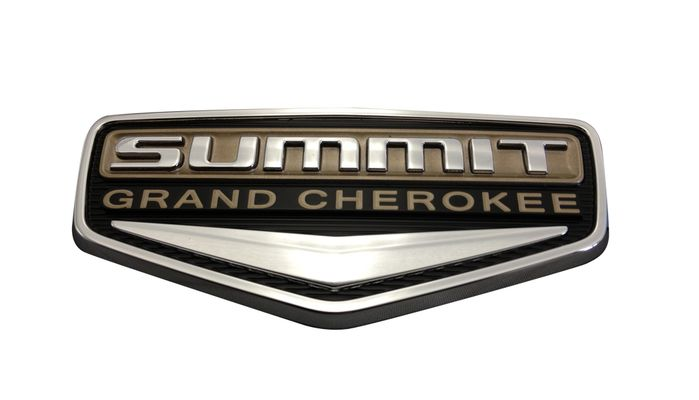 Grand Cherokee Summit Badge
