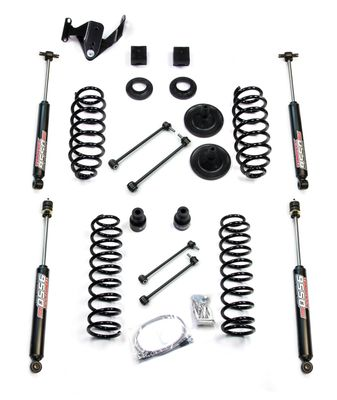 "Teraflex 3"" Suspension Lift Kit w/ 9550 Shocks for Wrangler JK"