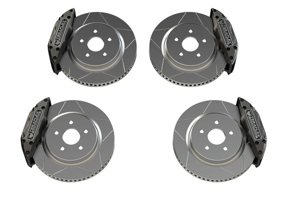 "Teraflex Delta Front and Rear Brake Kit 5x5"" Bolt Pattern for 2007-2019 Wrangler JK/JL"