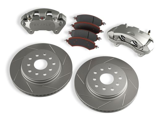 Teraflex Front Big Brake Kit w/ Slotted Rotors