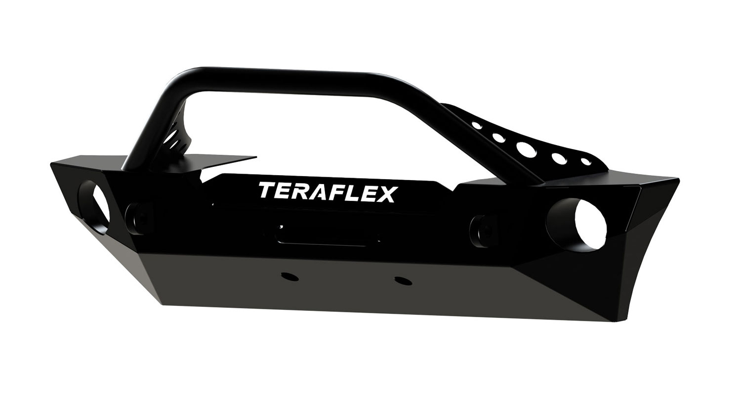 Teraflex Front Epic Bumper w/ Hoop Kit for Wrangler JK