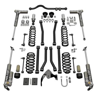 "Teraflex 3"" Sport S/T3 Suspension System w/ 3.2 Falcon Shocks for Wrangler JK"
