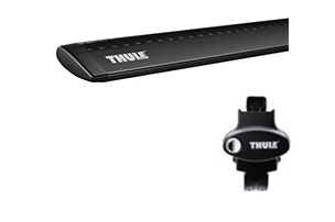 Thule AeroBlade ARB47B w/Rapid Podium Foot Pack