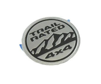 Trail Rated Badge for the JL Wrangler and JT Gladiator
