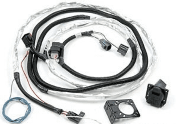 trailer tow wire harness kit for jeep wrangler
