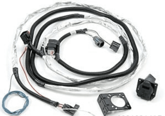 Trailer Tow Wire Harness Kit for the 2007-2018 Wrangler JK