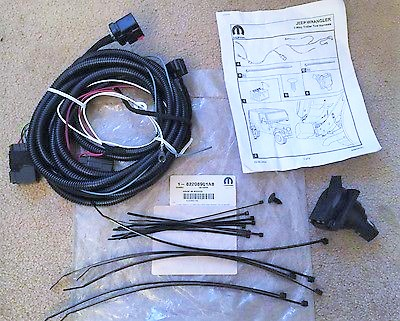Sensational Trailer Tow Wire Harness Kit Lwb 82208901Ab Wiring Digital Resources Funapmognl