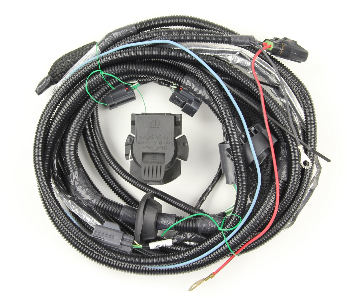 Mopar Trailer Tow Wiring Harness for 2008-2012 Liberty KK #82210642ADJustForJeeps.com