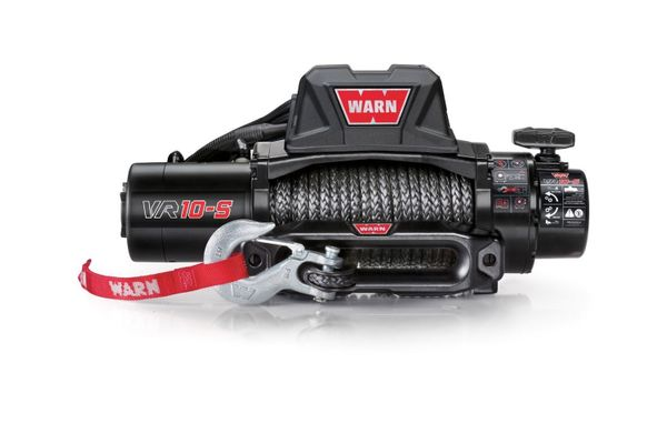 Warn VR10-S Standard Duty 10,000lb. Winch with Synthetic Cable