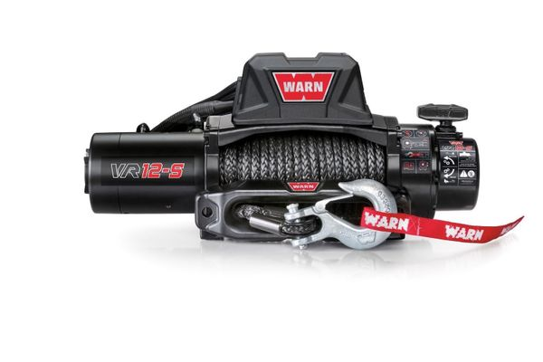 Warn VR12-S Standard Duty 12,000lb. Winch with Synthetic Cable
