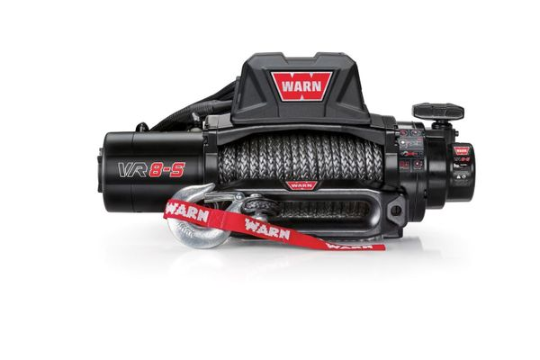 Warn VR8-S Standard Duty 8000lb. Winch with Synthetic Cable