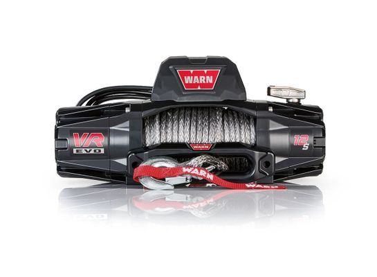 Warn VR EVO 12-S Standard Duty 12,000lb. Winch with Synthetic Cable
