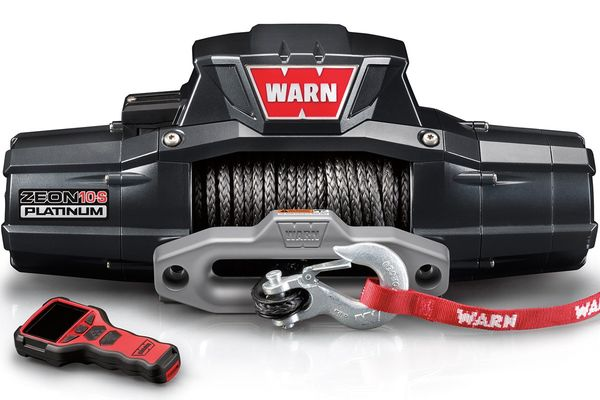 Warn Zeon 10-S Platinum Ultimate Performance 10,000lb. Winch with Synthetic Cable