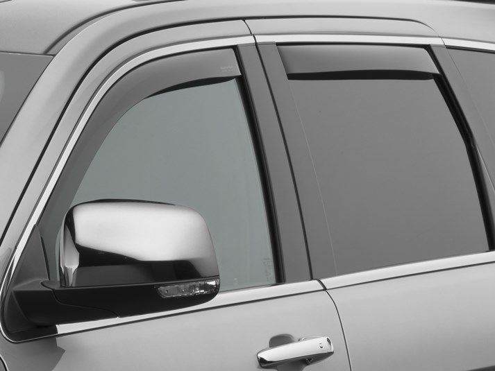 WeatherTech Side Window Air Deflectors for 2011-2020 Grand Cherokee WK2