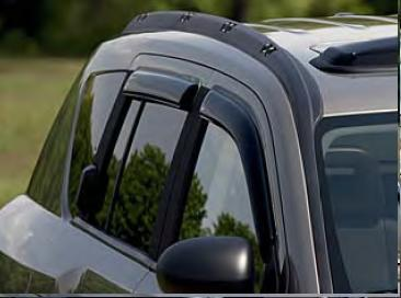 WeatherTech Side Window Air Deflectors for 2007-2017 Compass MK