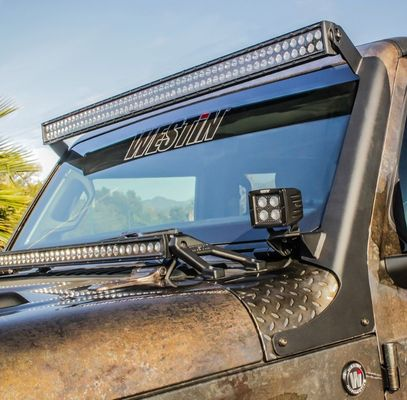 "Westin Automotive Snyper 50"" Full Pillar LED Light Bar Mount for 2018-2019 Wrangler JL and 2020 Gladiator JT"