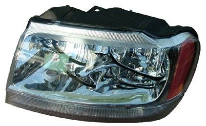 Mopar Limited/Overland Headlight for 1999-2004 Grand Cherokee WJ