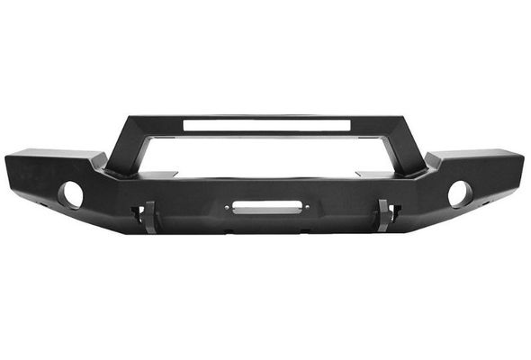 Westin Automotive WJ2 Full Width Front Bumper with LED Light Bar Mount for 2007-2020 Wrangler JK/JL and 2020 Gladiator JT